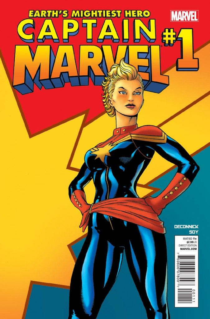Captain Marvel no.1