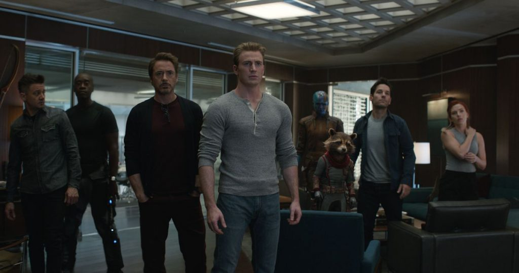 "The Avengers in ""Avengers: Endgame."""
