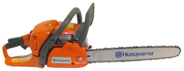 Husqvarna chainsaw has an automatic oil release system
