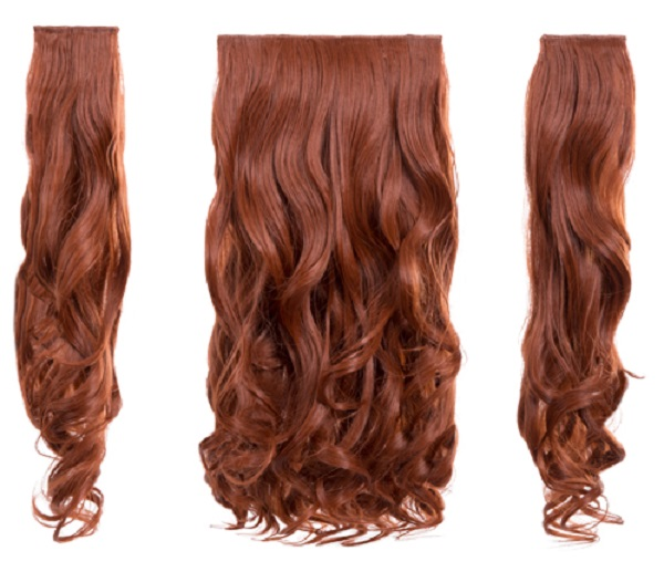Real hair extension blends in well with your own hair