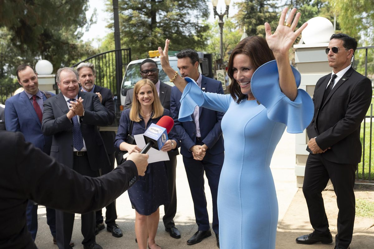 The gang's all back for the final season of Veep — and Selina's fourth run at the presidency.