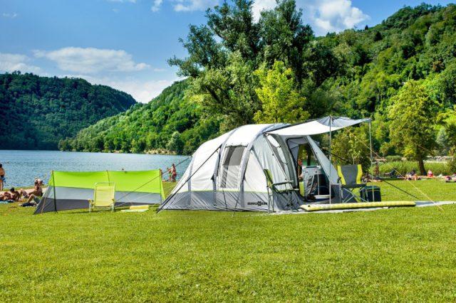 Individual camping tents