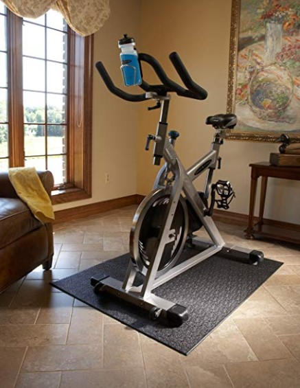 Function of the treadmill mat is to reduce the noise