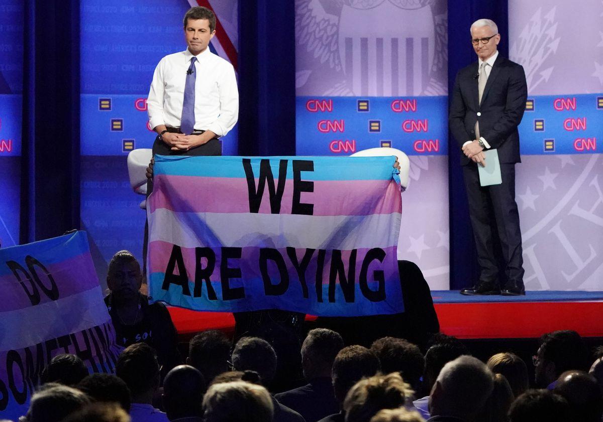 Pete Buttigieg Anderson Cooper LGBTQ town hall