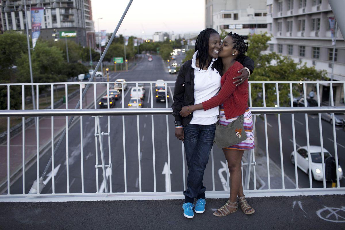 black lesbian couple