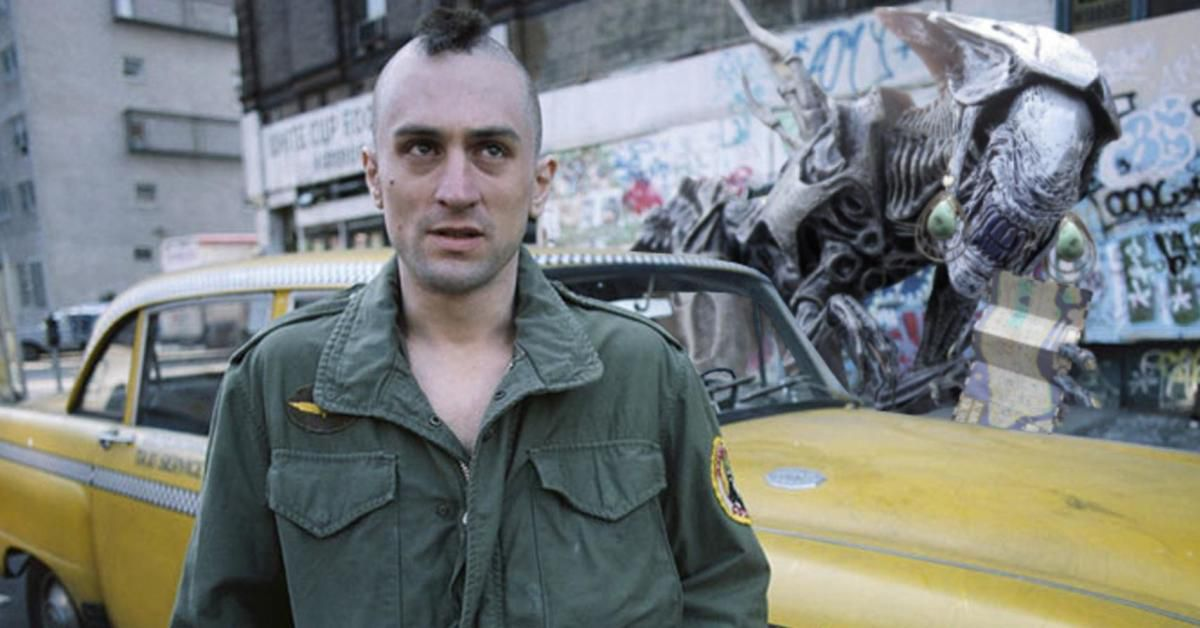 Travis Bickle (Robert De Niro) in Taxi Driver.