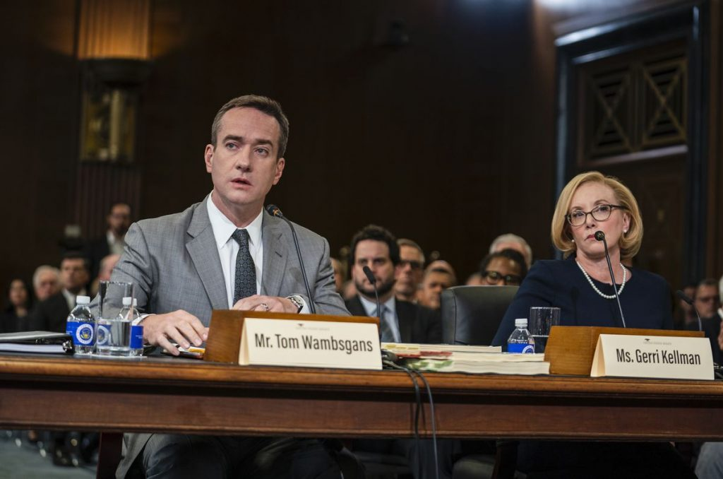 Tom and Gerri testify before Congress.