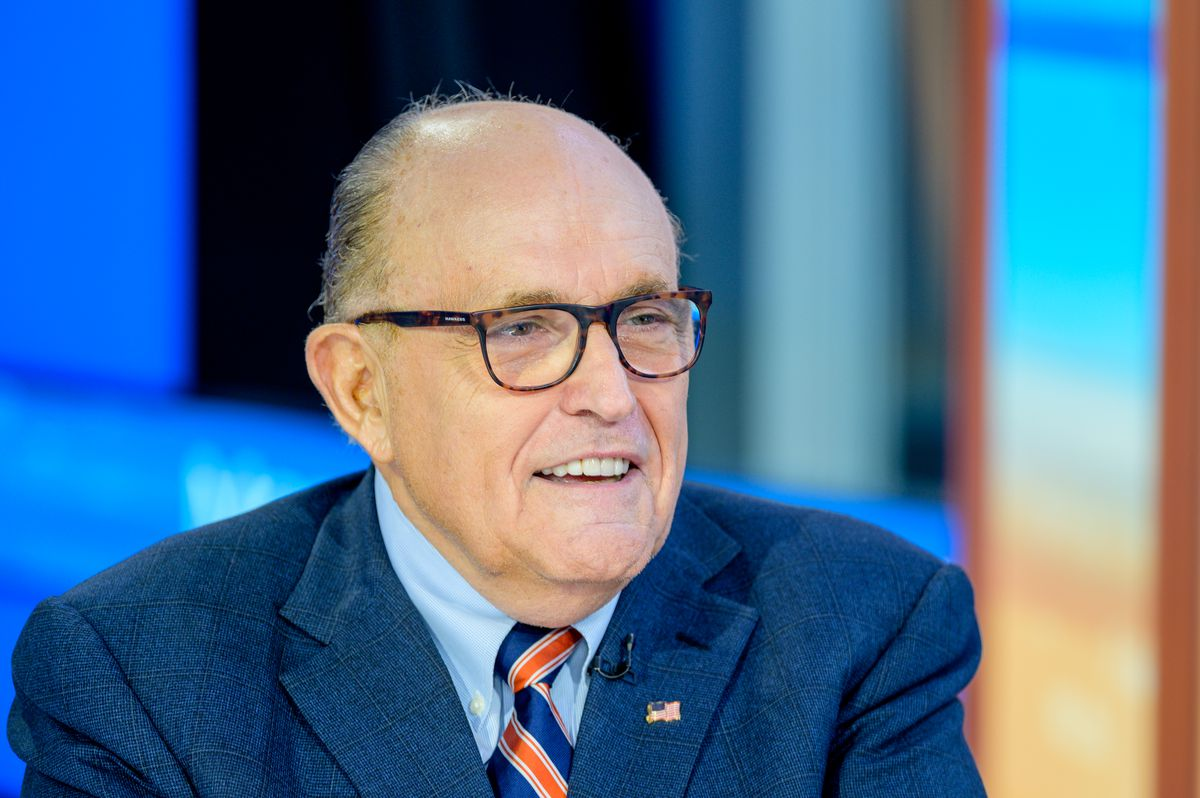 "Former New York City Mayor and attorney to President Donald Trump Rudy Giuliani on ""Mornings With Maria"" on Fox."
