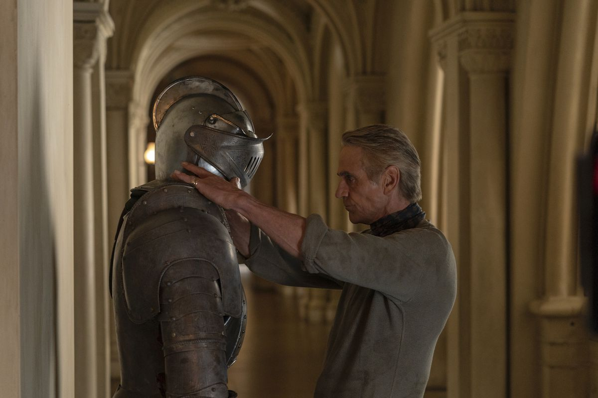 Jeremy Irons is playing Adrian Veidt.