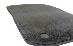 Textile floor mats