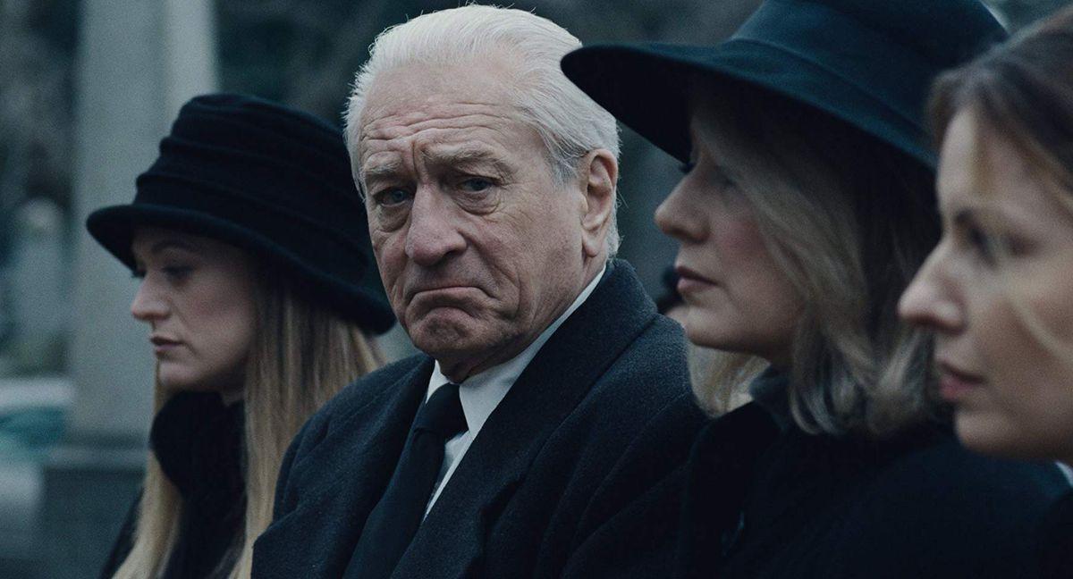 Robert DeNiro in The Irishman.