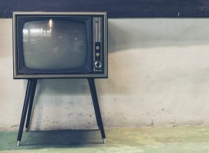 A television is a machine with a screen