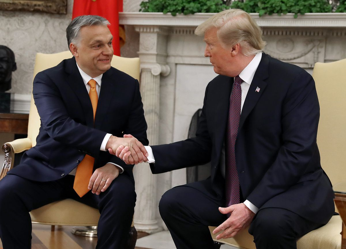 President Donald Trump Welcomes Hungarian Prime Minister Viktor Orban To The White House