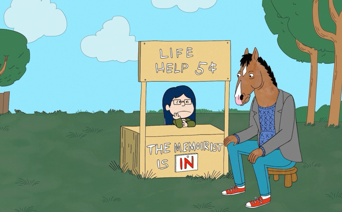 Diane and BoJack Horseman.