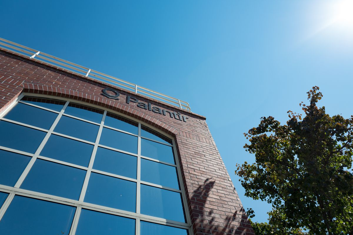Palantir's Palo Alto headquarters.