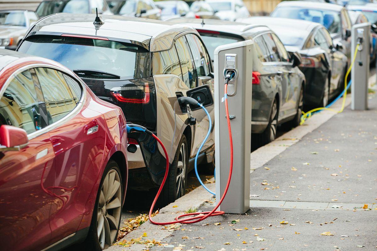 EVs charging