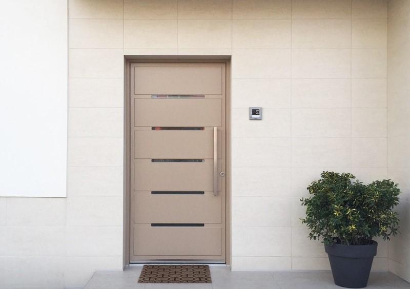 Front house doors