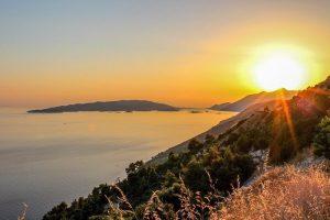 Sunset in Pelješac