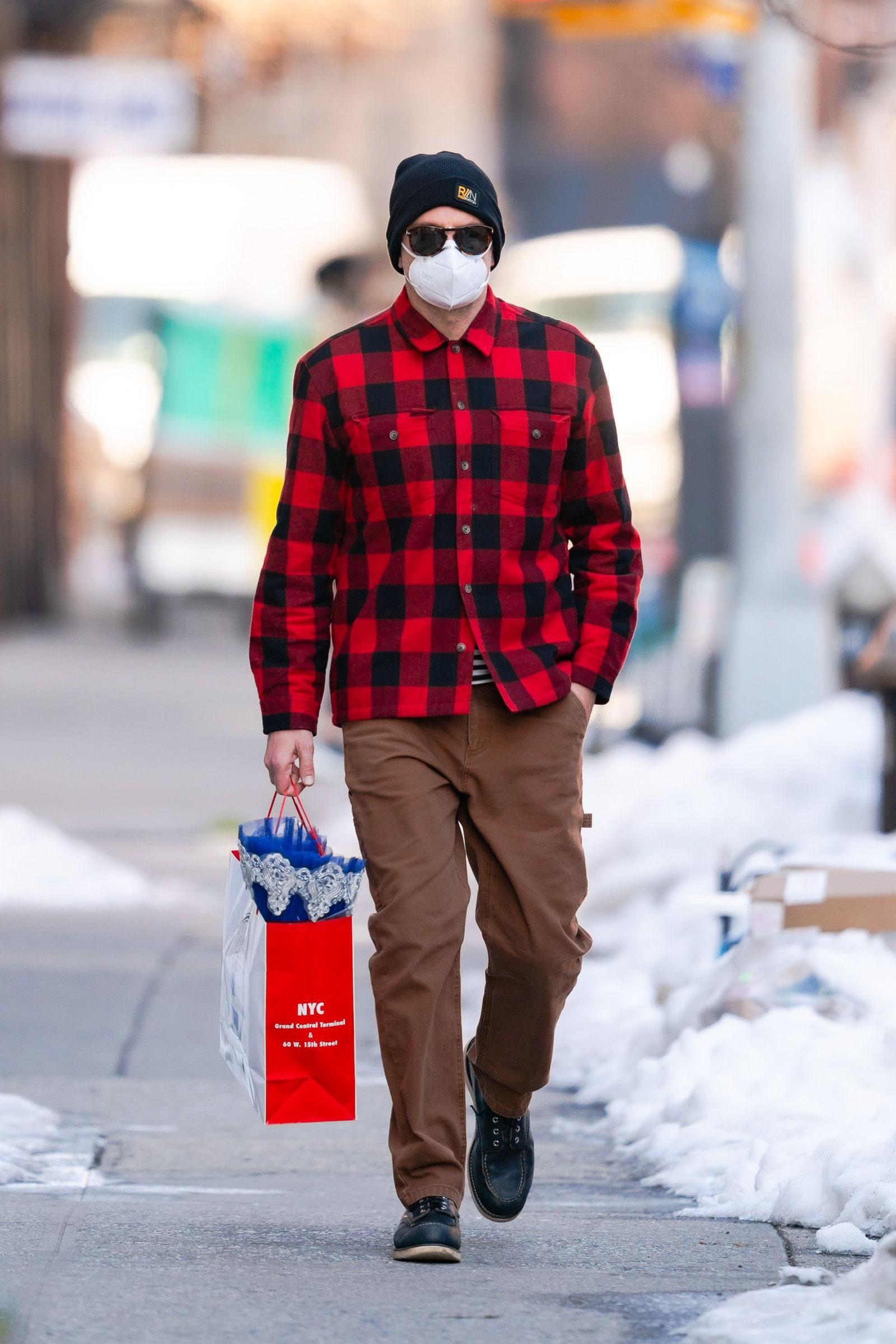 Bradley Cooper in New York February 10 2021.
