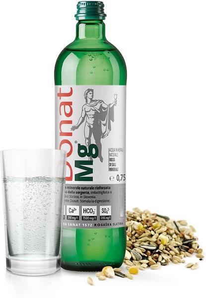 Mineral water Donat Mg