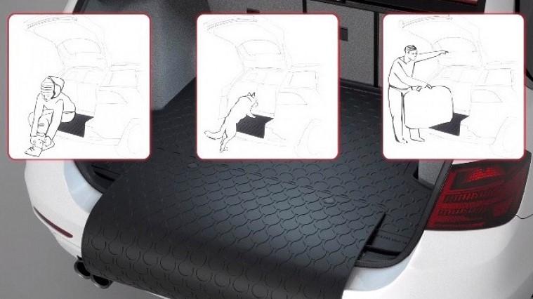 Rubber boot car mats